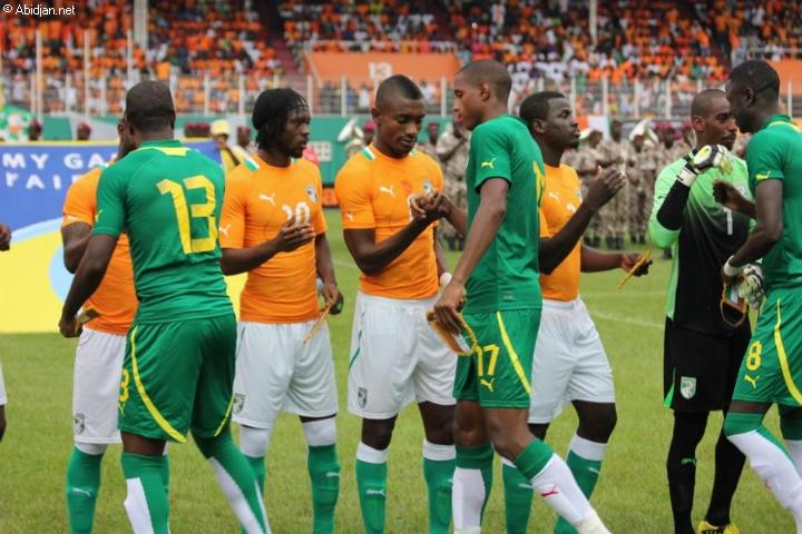 Image d'archive Cote d'Ivoire-Senegal